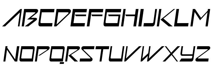 Astron Boy Italic Шрифта ВЕРХНИЙ