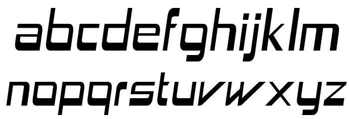 Astron Boy Italic Шрифта строчной
