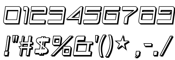 Astron Boy Wonder Шрифта ДРУГИЕ символов