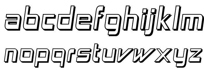 AstronBoyWonder-Regular Font LOWERCASE