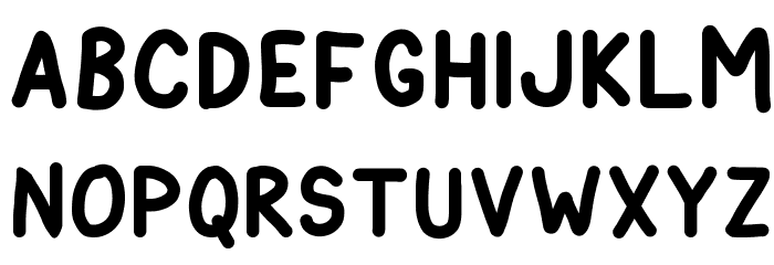 Astronaut City Font UPPERCASE