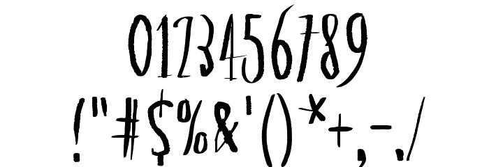 Asymmetrical Circle Шрифта ДРУГИЕ символов