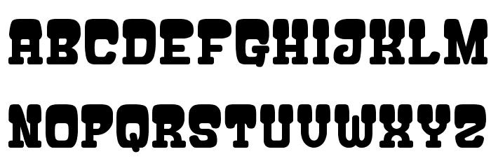 ATAMA-SERIF__G Font LOWERCASE