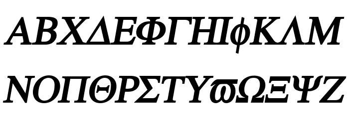 Atene-BoldItalic Fonte MAIÚSCULAS
