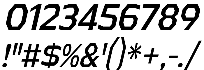 AthabascaCdRg-Italic Font Alte caractere