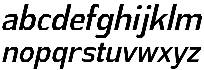 AthabascaCdRg-Italic Font Litere mici