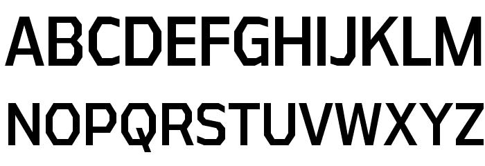 AthabascaCdRg-Regular Font Litere mari
