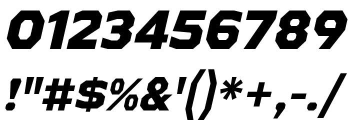 AthabascaEb-Italic Font Alte caractere