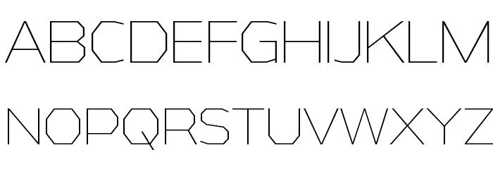 AthabascaEl-Regular Font Litere mari