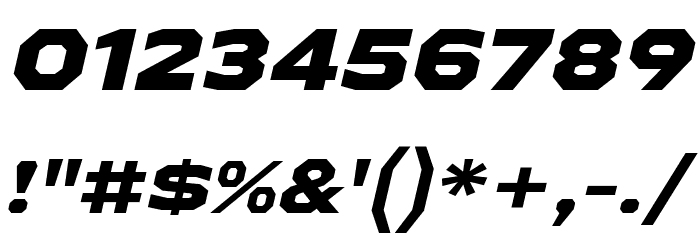 AthabascaExEb-Italic Font Alte caractere