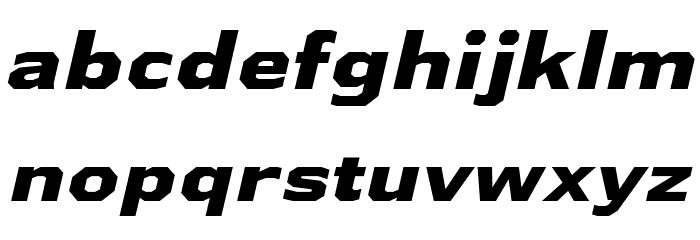 AthabascaExEb-Italic Font Litere mici