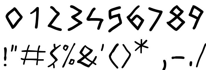 Athena Handwritten Fonte OUTROS PERSONAGENS