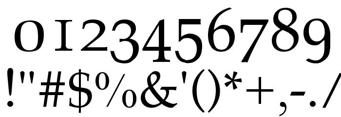 Athena Unicode Шрифта ДРУГИЕ символов