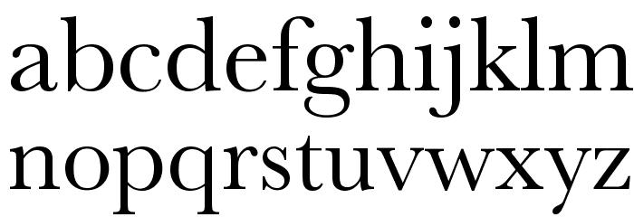 Athena Unicode Шрифта строчной