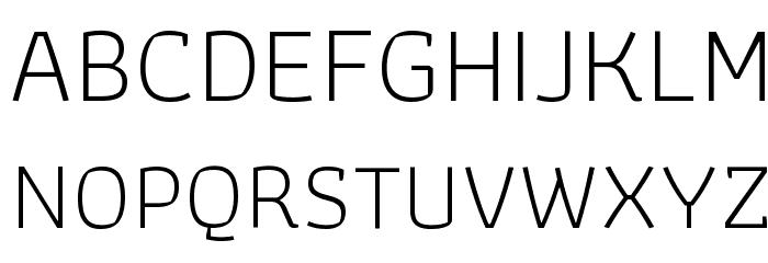 Athiti Light Font UPPERCASE