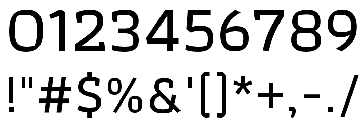 Athiti Medium Font OTHER CHARS