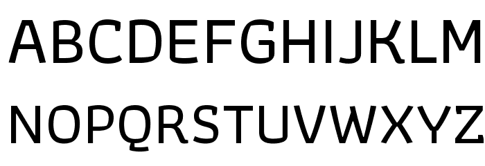 Athiti Medium Font UPPERCASE