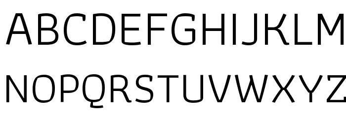 Athiti Regular Font UPPERCASE