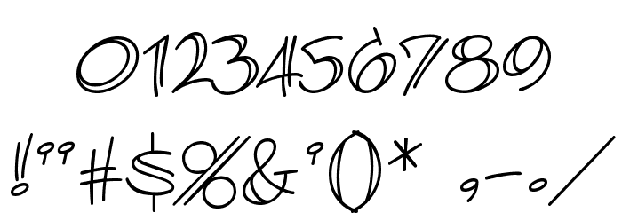 AtlandSketches BB Font OTHER CHARS