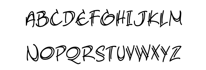 AtlandSketches BB Font LOWERCASE