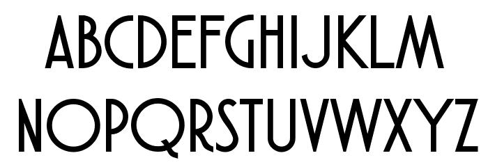 Atlantic Cruise Schriftart Kleinbuchstaben