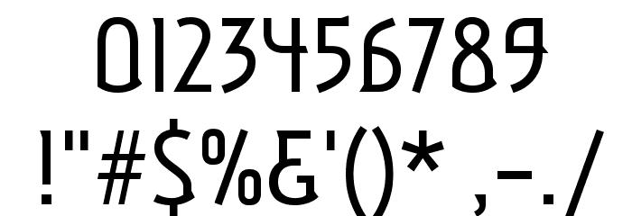Aubrey Шрифта ДРУГИЕ символов
