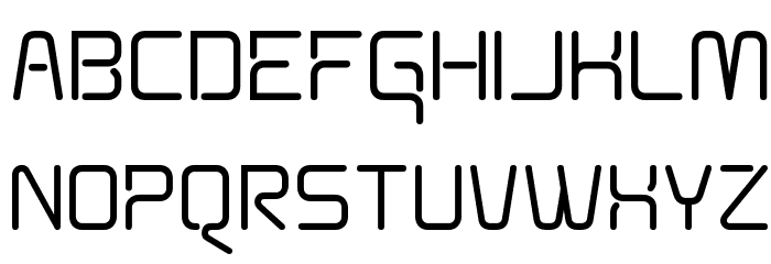 Aunchanted Bold Font UPPERCASE
