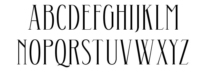 Aunofa Serif DEMO Regular Fonte MAIÚSCULAS