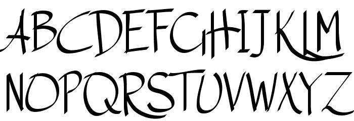 Austie Bost Matamata لخطوط تنزيل الأحرف الكبيرة