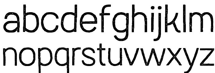 Austral Sans Stamp Light Шрифта строчной