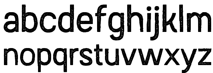 Austral Sans Stamp Regular Font LOWERCASE