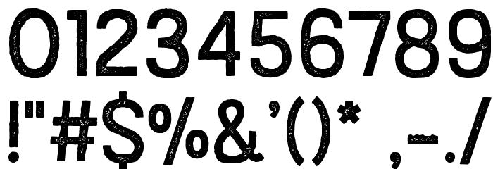 AustralSansStamp-Regular Caratteri ALTRI CARATTERI