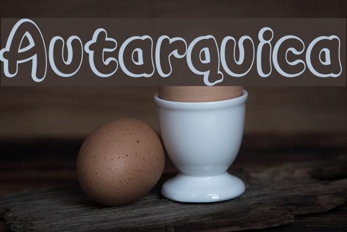 Autarquica Шрифта examples