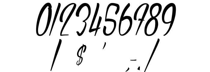 AuthenticHilton Font OTHER CHARS
