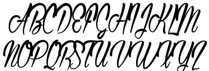 AuthenticHilton Font UPPERCASE