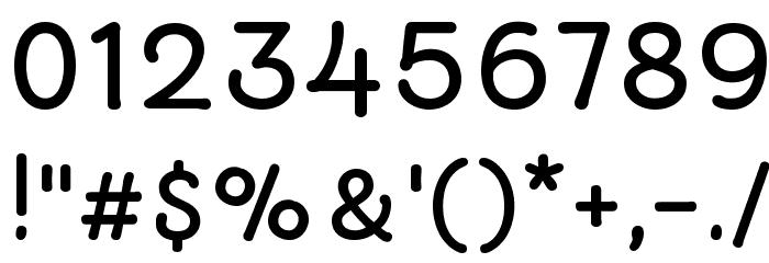 Autour One Шрифта ДРУГИЕ символов