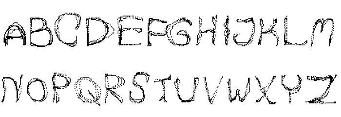 Autumn Pixels Font UPPERCASE