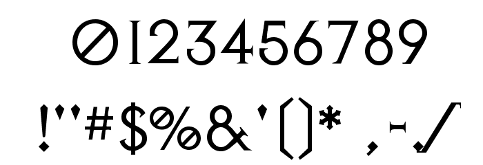 Avalon Quest Font OTHER CHARS