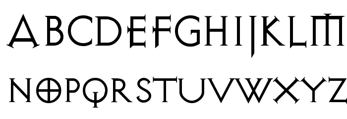 Avalon Quest Font UPPERCASE