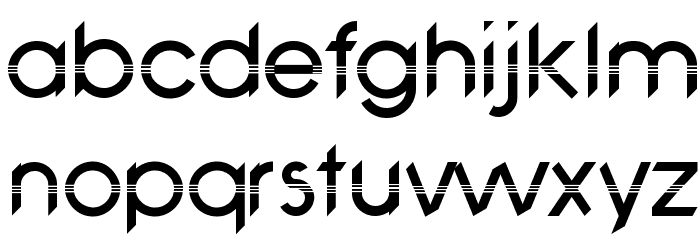 Avanti Romero-Regular Font LOWERCASE