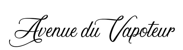 Avenue du Vapoteur  フリーフォントのダウンロード