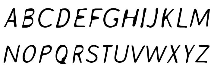 AveriaSans-LightItalic Fonte MAIÚSCULAS