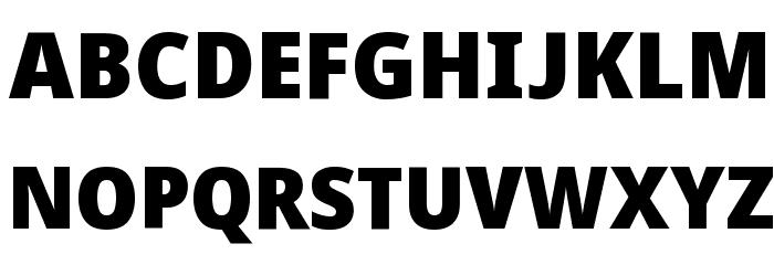 Avrile Sans Black Schriftart Groß