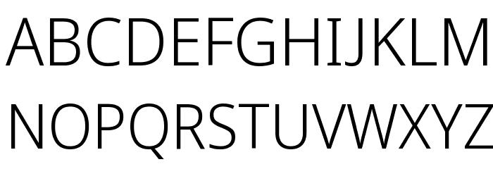 Avrile Sans Light Schriftart Groß