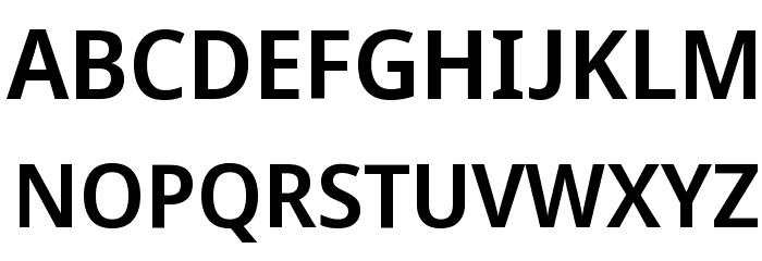 Avrile Sans SemiBold Schriftart Groß