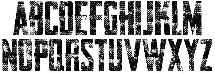 AWAKENNING STEEL Personal Use  Font LOWERCASE