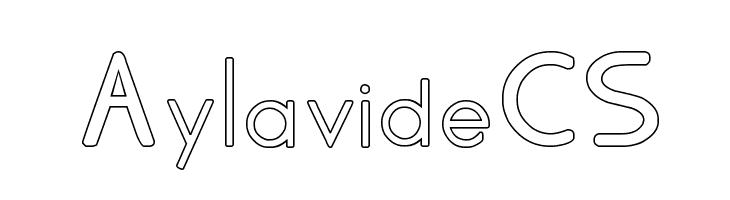 AylavideCS  baixar fontes gratis