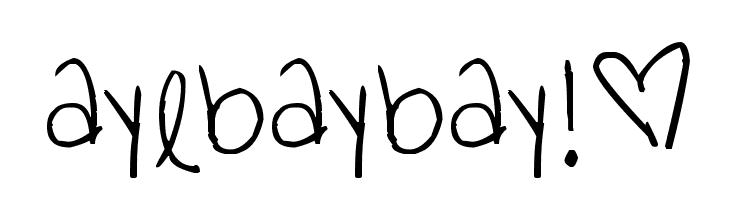 ayebaybay!�  Скачать бесплатные шрифты