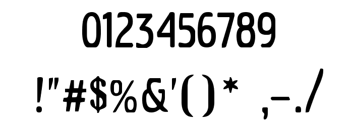 Azimech Font OTHER CHARS