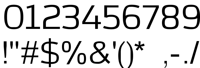 Azoft Sans Font OTHER CHARS